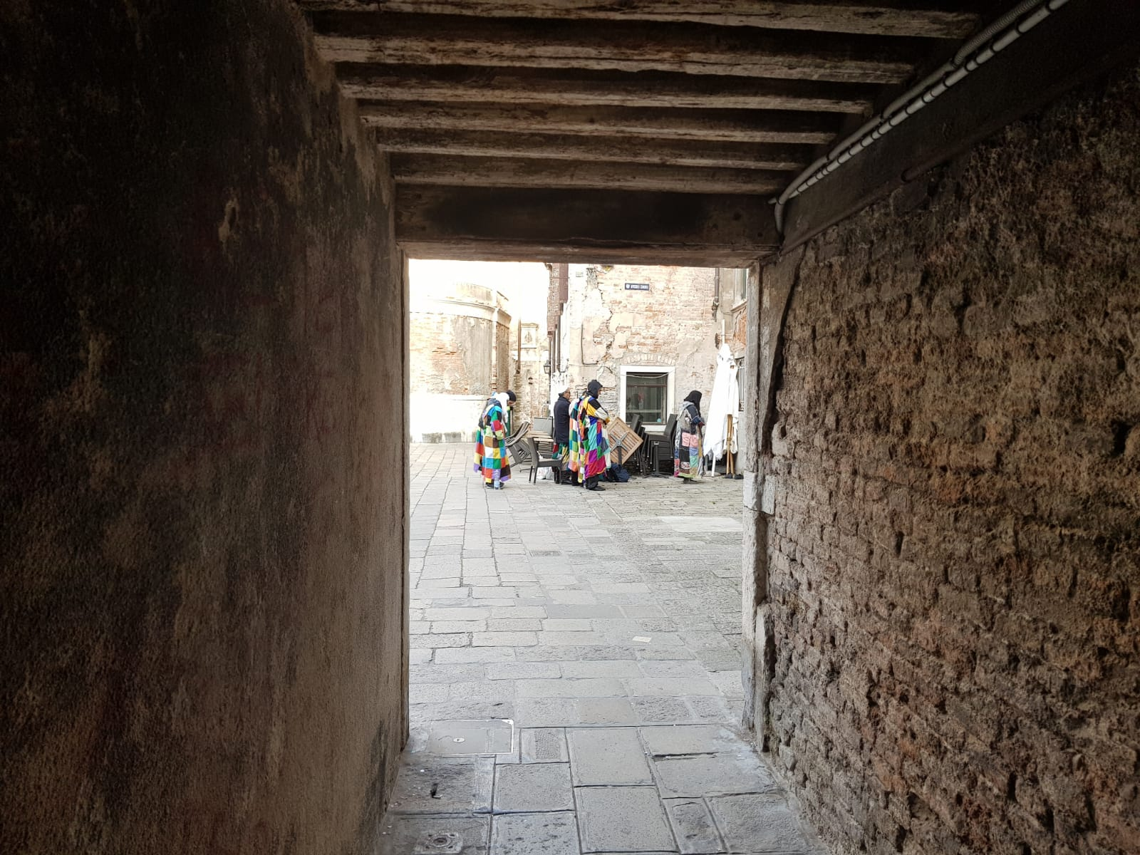 Prière à Venise avec sidi Shaykh