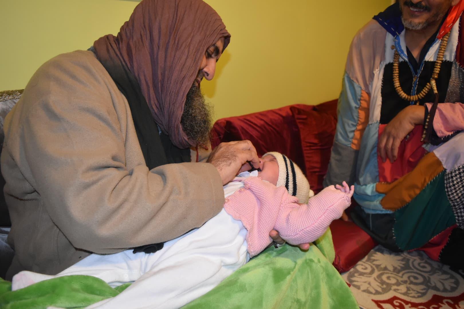 Sidi Shaykh, invocation pour le bébé