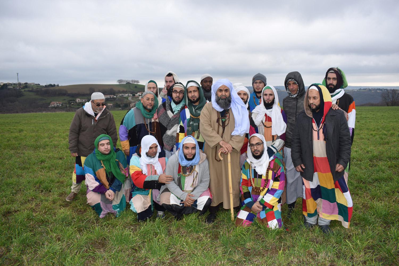 Sidi Shaykh en promenade à Condrieu