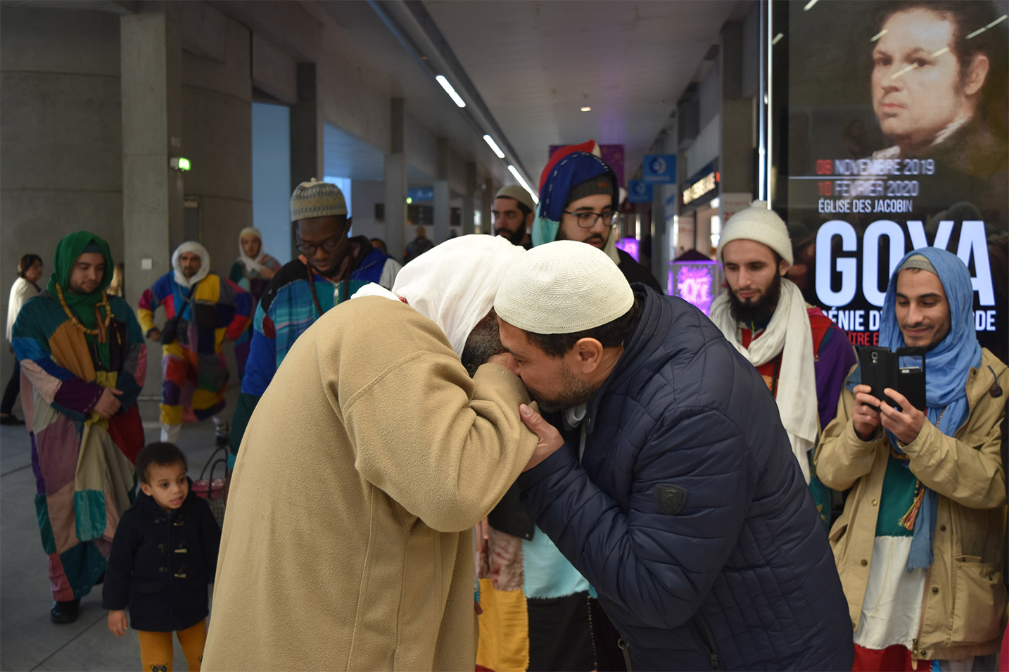 Visite du Shaykh à Bordeaux (01/2020)