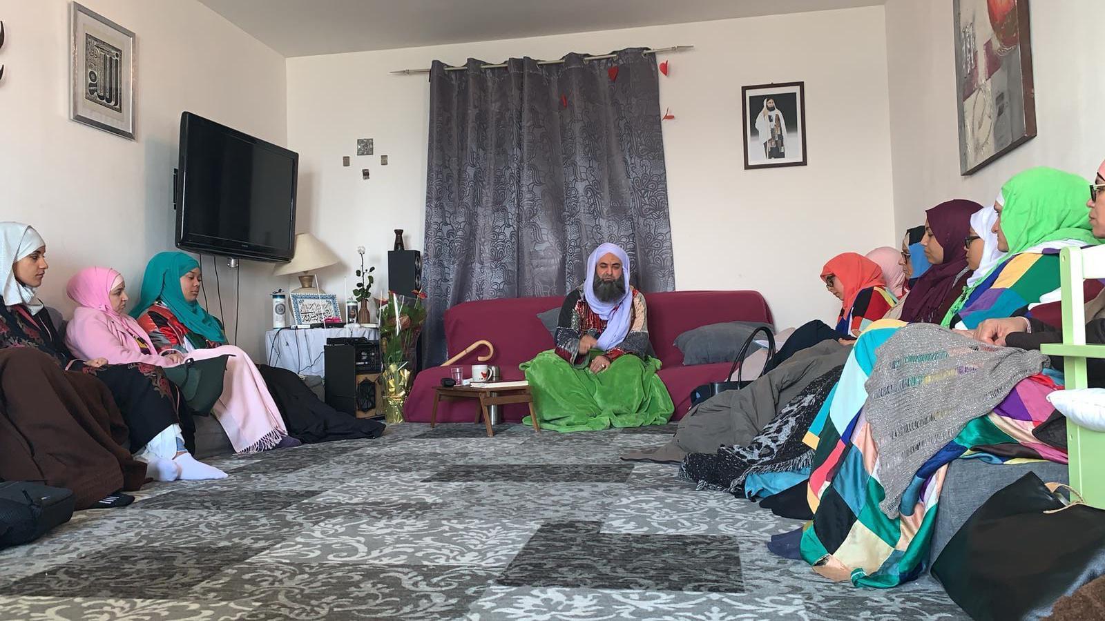 Assise des femmes à la zawiya de Condrieu