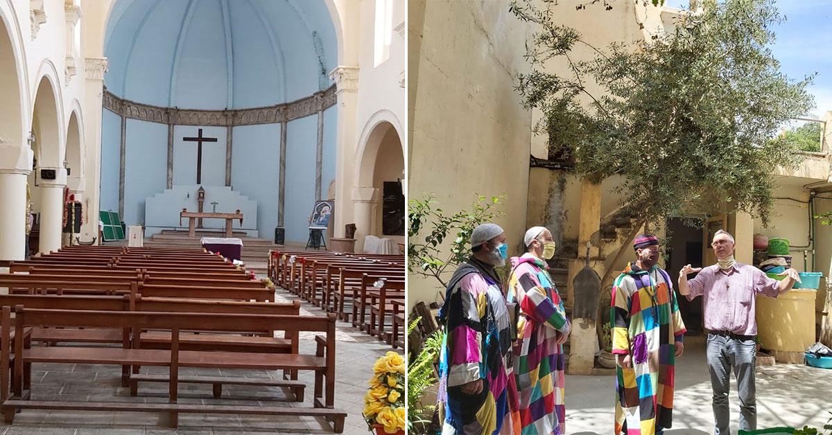 La Voie Soufie Karkari au soutien de la Cathédrale St-Louis d'Oujda (Maroc)