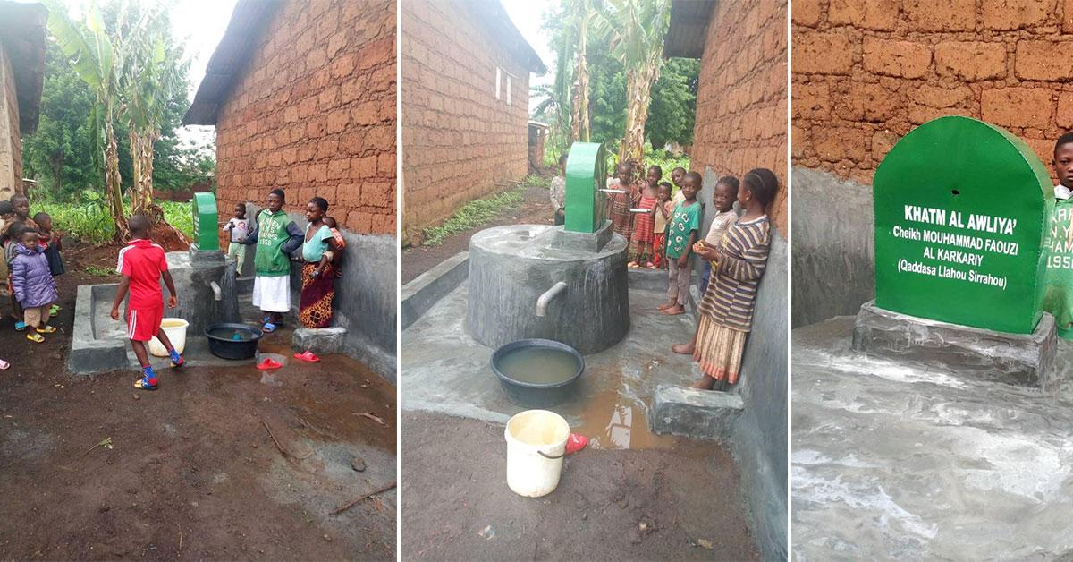 Très vite l'initiative a été répétée avec un second puits, toujours au Togo.