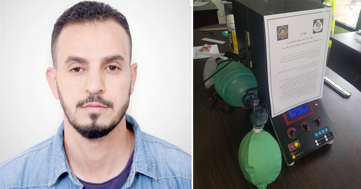 Ingénieur et disciple de la voie, Abu Bakr a fabriqué en Egypte un respirateur en collaboration avec le MIT.