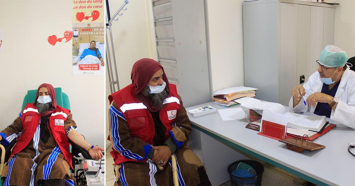 Le Shaykh Mohamed Faouzi Al Karkari (qu'Allâh sanctifie son secret) est également impliquée dans chaque action humanitaire.