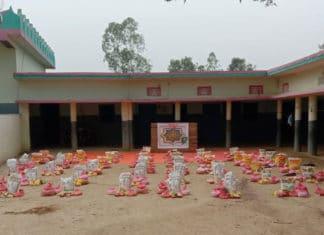 Action humanitaire de la Karkariya à Udaipur City (Inde)