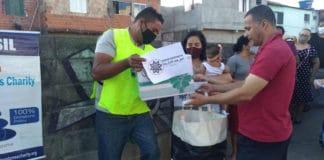 Action humanitaire de la Karkariya au Brésil