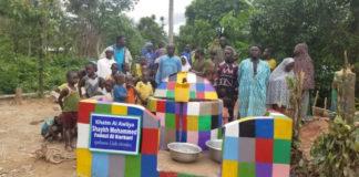 Action humanitaire de la Karkariya au Ghana