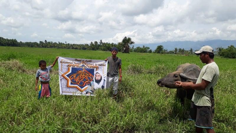 Deuxième action humanitaire de la Karkariya aux Philippines