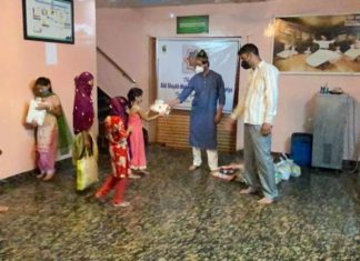 Les disciples karkaris de l'Inde mènent une action humanitaire à Ajmer (Rajasthan)