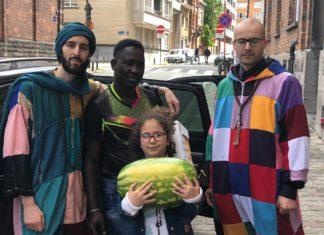 Les karkaris belges mettent du baume au cœur des sans-papiers africains