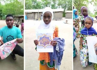 Les disciples karkaris ghanéens font la joie des orphelins du village Dave