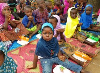 Les disciples karkaris togolais organisent un repas festif pour 200 orphelins