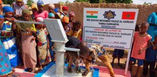 Les Karkaris du Niger entreprennent une action humanitaire à Kabawa